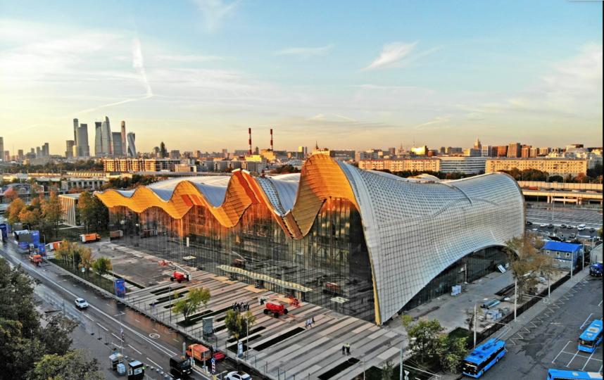 Строительство Центра художественной гимнастики. Фото скриншот stroi.mos.ru