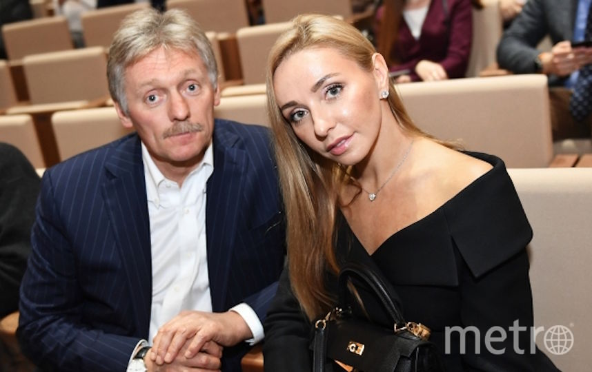 Татьяна Навка и Дмитрий Песков. Фото РИА Новости