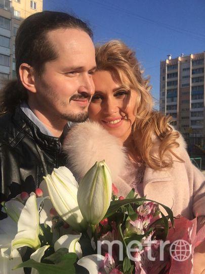 Отец Сергий и Оксана Зотова. Фото Предоставлено Оксаной Зотовой