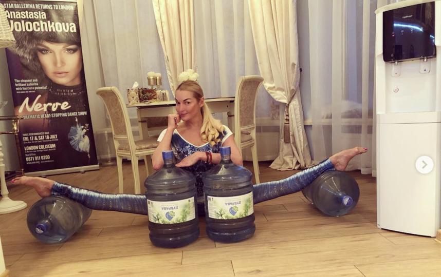 Анастасия Волочкова. Фото скриншот https://www.instagram.com/volochkova_art/