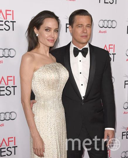 Анджелина Джоли с Брэдом Питтом. Фото Getty