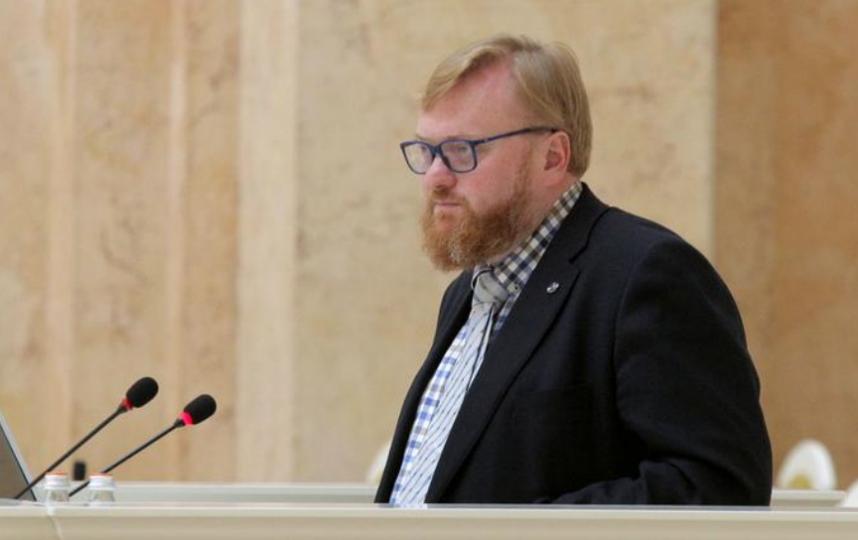 Виталий Милонов, фотоархив. Фото пресс-служба Законодательного Собрания Санкт-Петербурга