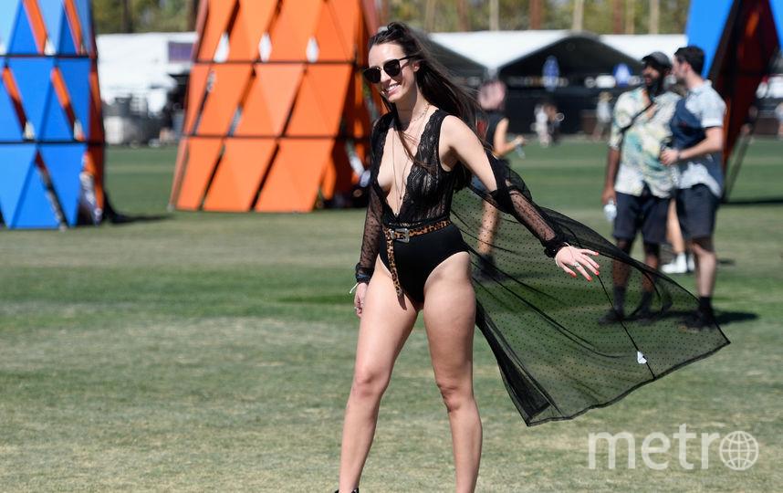 Яркие посетители фестиваля Coachella 2019. Фото Getty