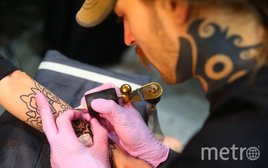 В Москве прошёл 17-й фестиваль татуировки. Фото Василий Кузьмичёнок