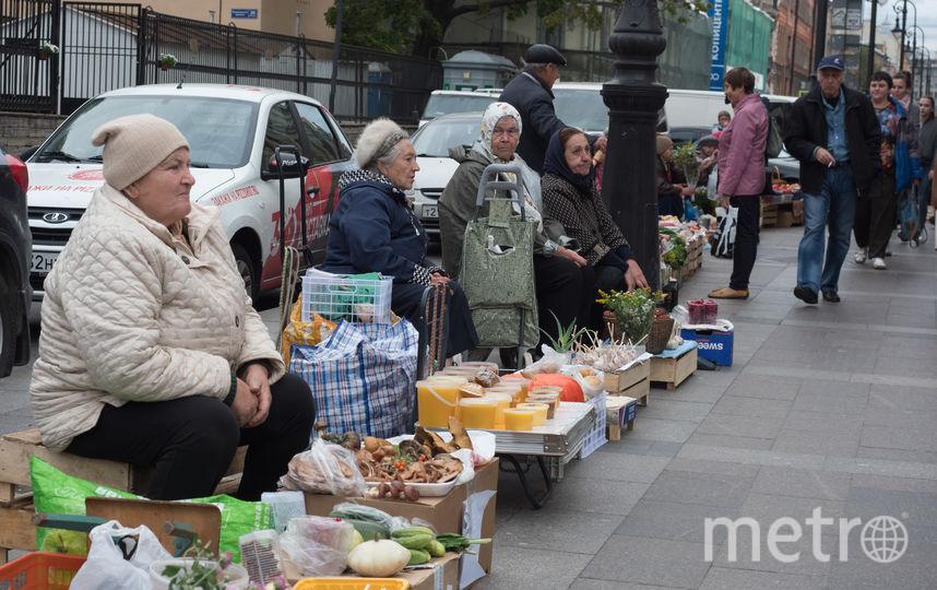 """Торговля в Петербурге. Фото Святослав Акимов, """"Metro"""""""