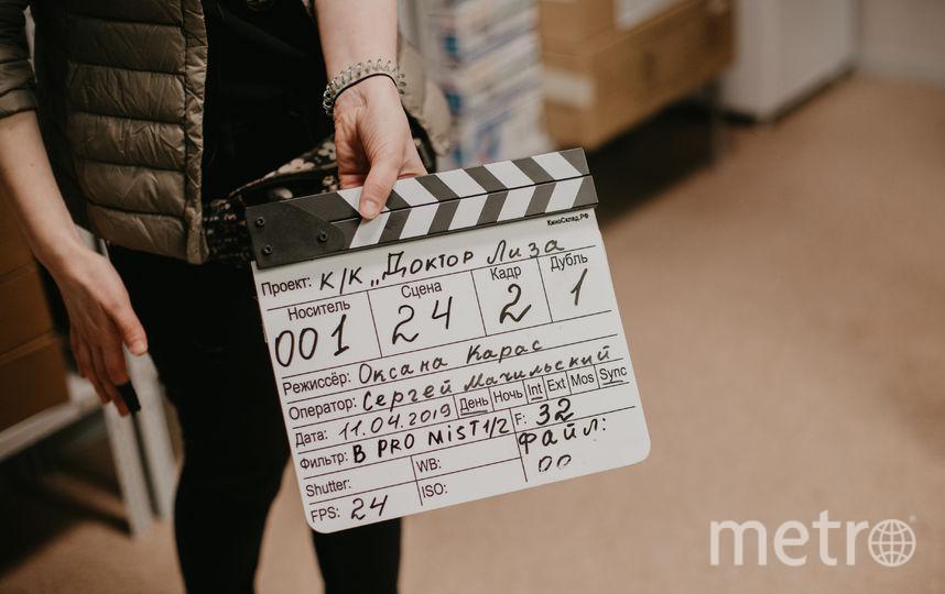 """Съемки фильма """"Доктор Лиза"""". Фото Киностудия КИТ"""