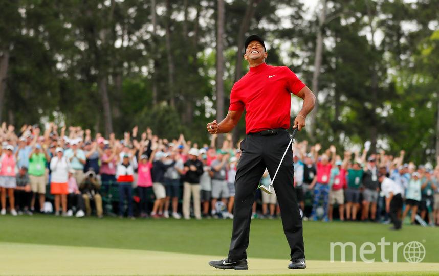 Знаменитый американский гольфист Тайгер Вудс. Фото Getty