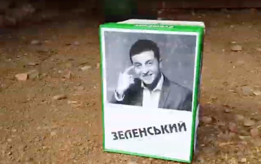 Кандидат на пост президента Украины Владимир Зеленский. Фото Скриншот/ Новостное агентство N24 RU, Скриншот Youtube