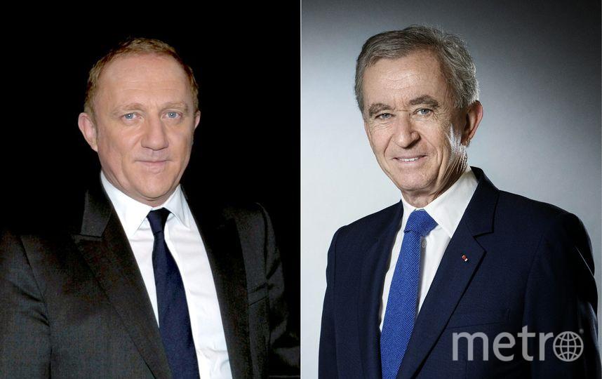 Франсуа-Анри Пино и Бернар Арно. Фото AFP