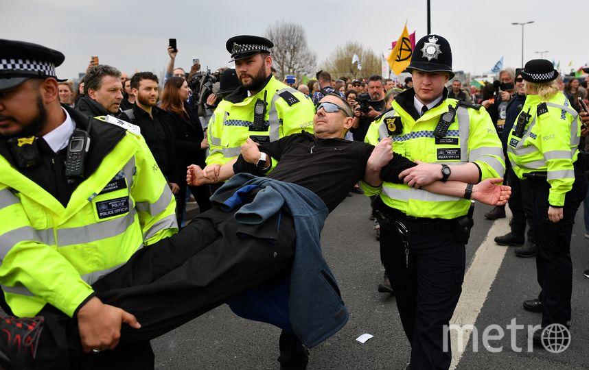 Полиция арестовала 209 демонстрантов. Фото AFP