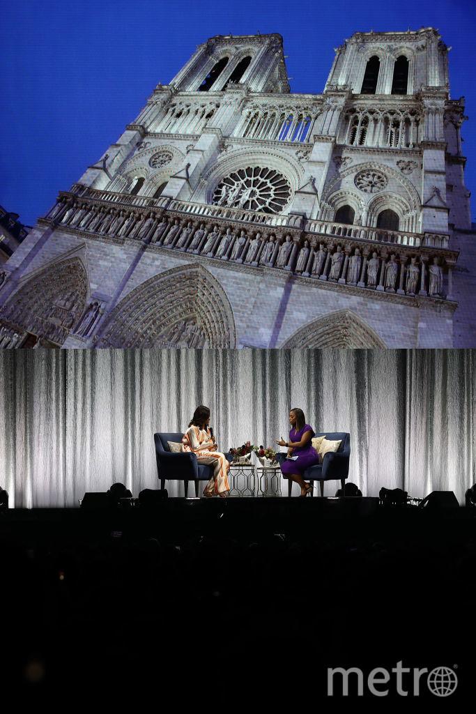 Мишель Обама в Париже. Фото Getty