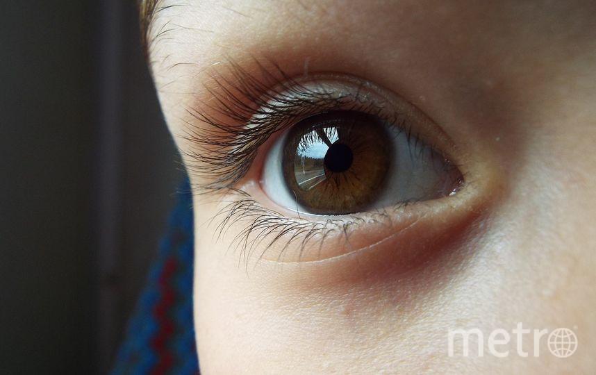 Детский глаз. Фото Pixabay