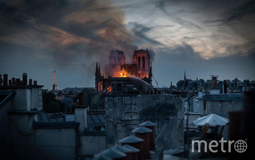 Собор Парижской Богоматери. Пожар произошел 15 апреля. Фото Getty