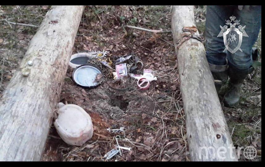Фото с места обнаружения тела. Фото предоставил подмосковный СК