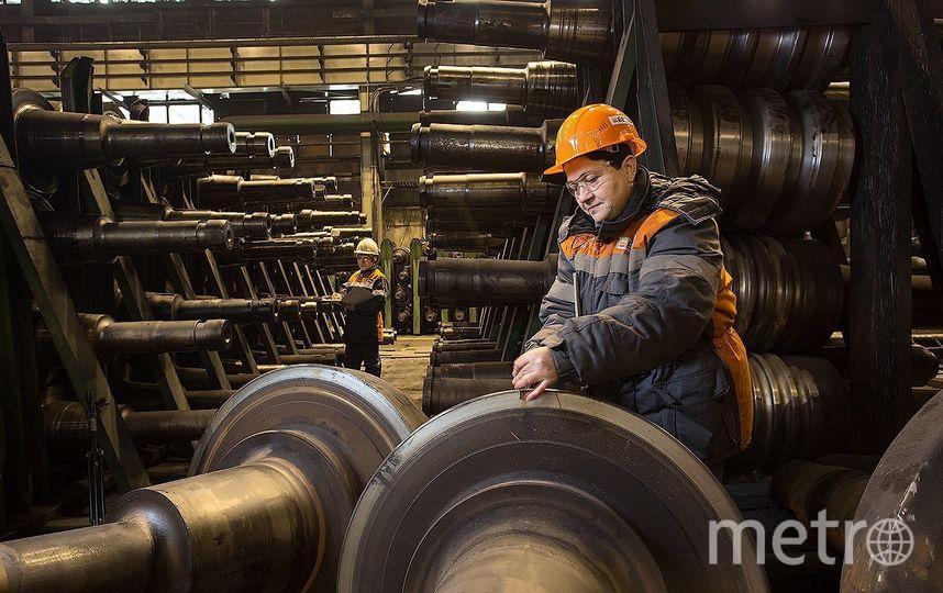 Металлургическая промышленность. Фото Роман Шаленкин/Instagram/@shalenkin