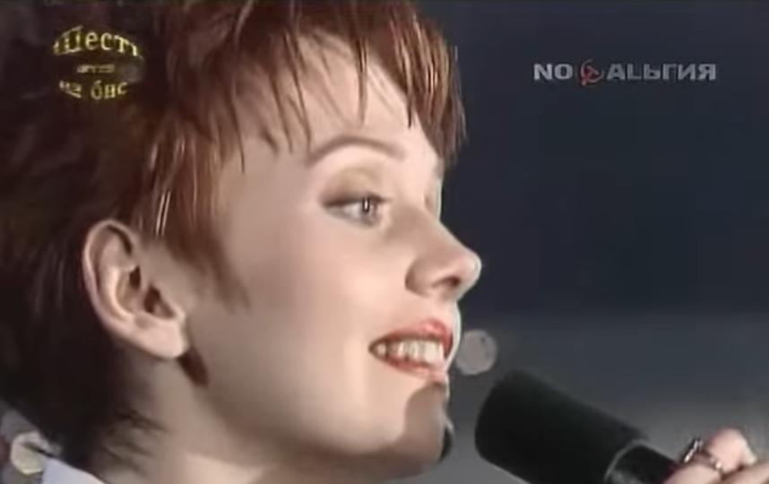 Валерия в молодости. Фото Скриншот Youtube