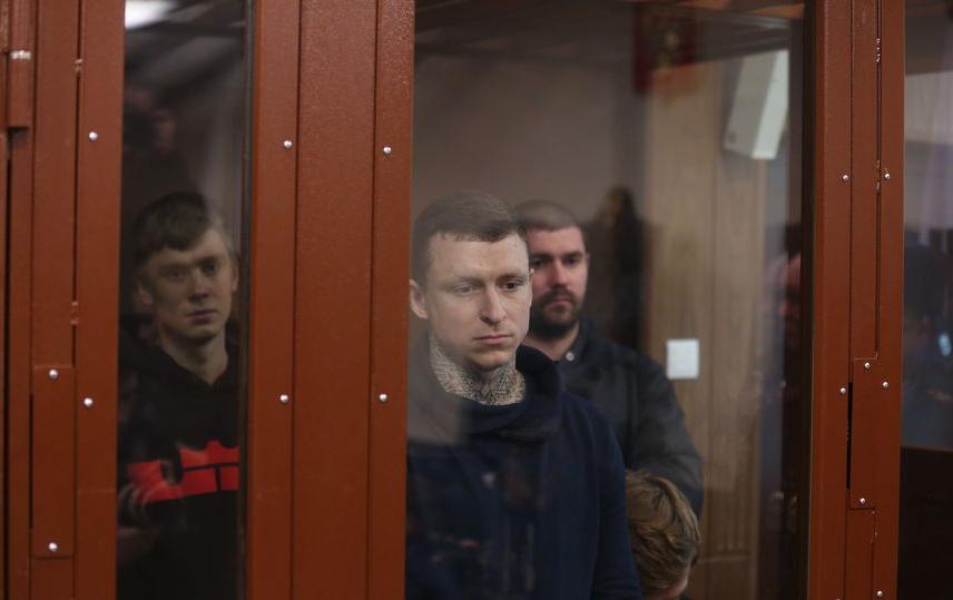 Павел Мамаев в зале суда. Фото Василий Кузьмичёнок