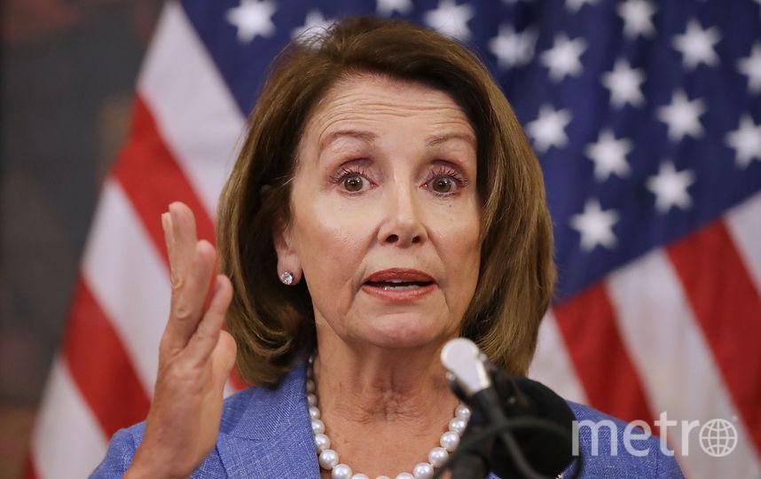 Американский политик-демократ Нэнси Пелоси. Фото Getty