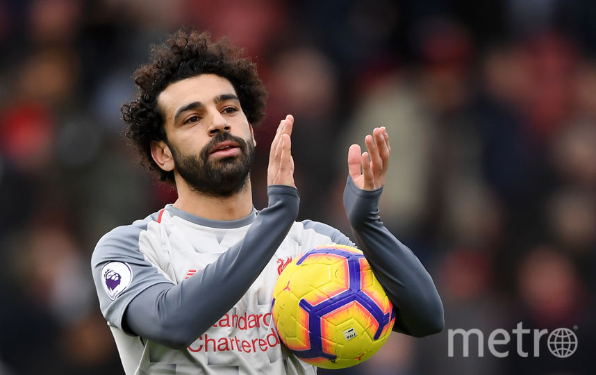 Футболист Мохамед Салах. Фото Getty