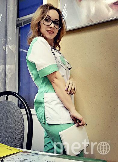 Анастасия на работе. Фото предоставила Анастасия Орлова
