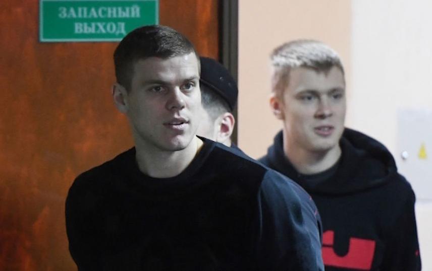 Кирилл и Александр Кокорины в суде. Фото РИА Новости