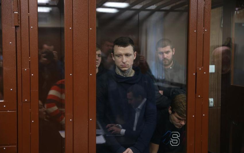 Павел Мамаев в суде. Фото Василий Кузьмичёнок