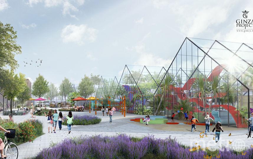 """Городу вернут оранжереи Таврического сада. Фото Ginza Project, """"Metro"""""""