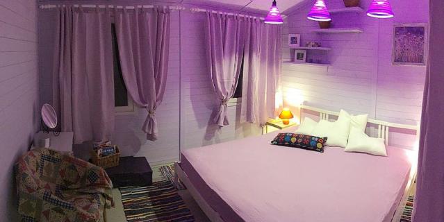 Оформление спальни.
