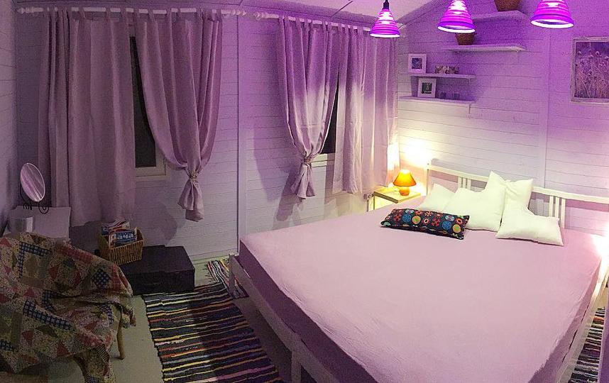 Оформление спальни. Фото Instagram @shmelkov