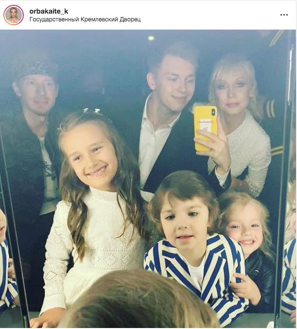 "Фото из Instagram Кристины Орбакайте. Фото ""Metro"""