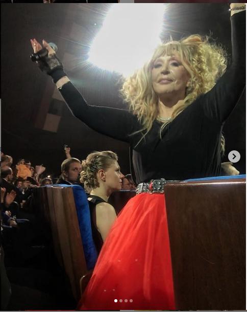 "Фото зрителей концерта Аллы Пугачевой. Фото https://www.instagram.com/elia_abba/, ""Metro"""