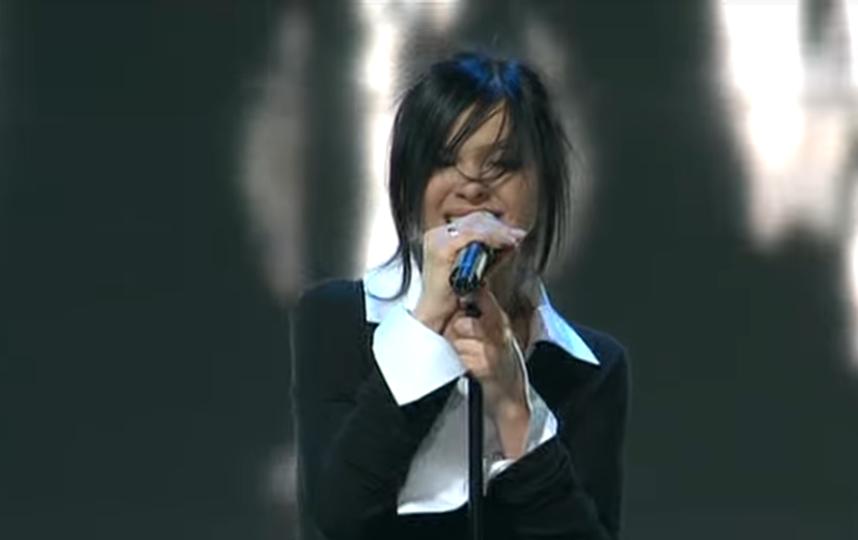 """Лена Темникова на """"Евровидении"""". Фото Скриншот Youtube"""