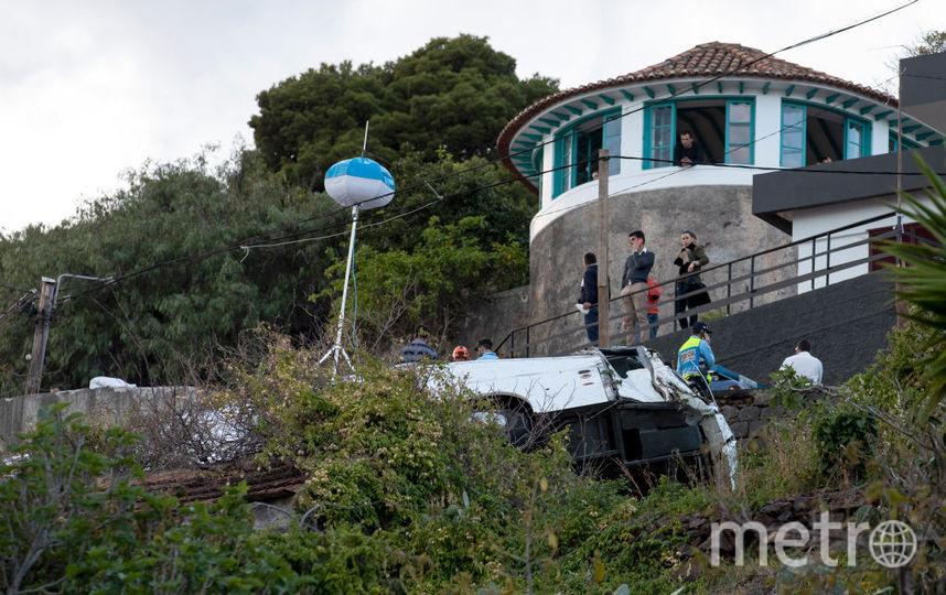 ДТП с автобусом на Мадейре. Фото Getty