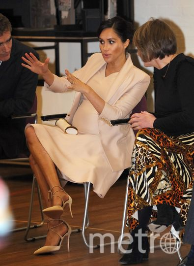 Меган Маркл во время посещения Национального театра. Фото Getty