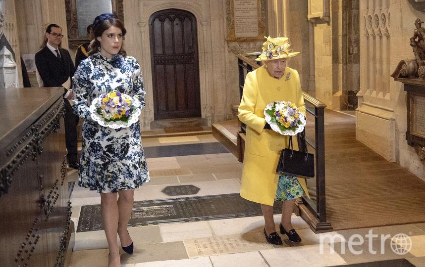 Принцесса Евгения и Королева Елизавета II. Фото Getty