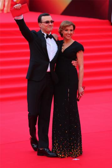 Егор Бероев и Ксения Алферова. Фото Василий Кузьмичёнок