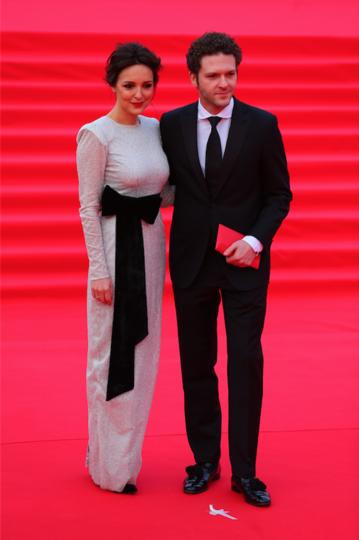 Константин Крюков с супругой Алиной Алексеевой. Фото Василий Кузьмичёнок