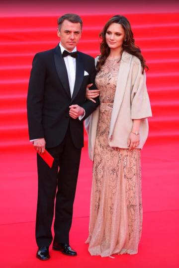 Игорь Петренко с супругой Кристиной Бродской. Фото Василий Кузьмичёнок