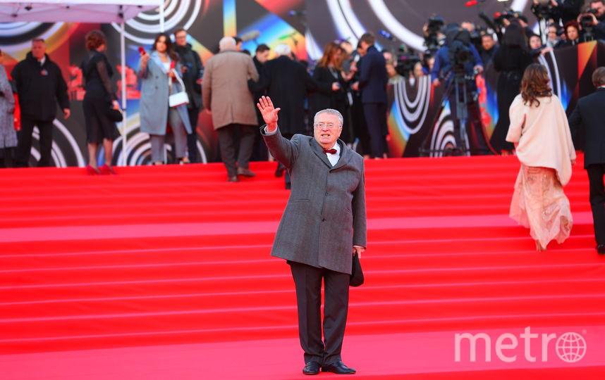Владимир Жириновский. Фото Василий Кузьмичёнок