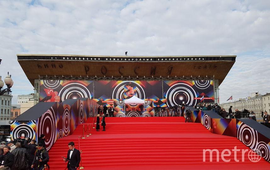 В Москве состоялась церемония открытия 41-го Московского международного кинофестиваля. Фото Василий Кузьмичёнок