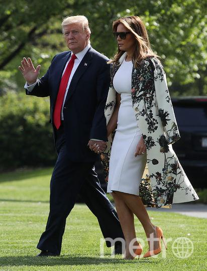 Дональд и Мелания Трамп на выходные отправились во Флориду. Фото Getty