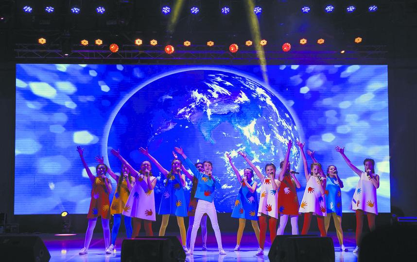 Шоу-программа московской «Домисольки» собрала аншлаг в одном из самых больших концертных залов столицы Узбекистана. Фото Павел Франчишин