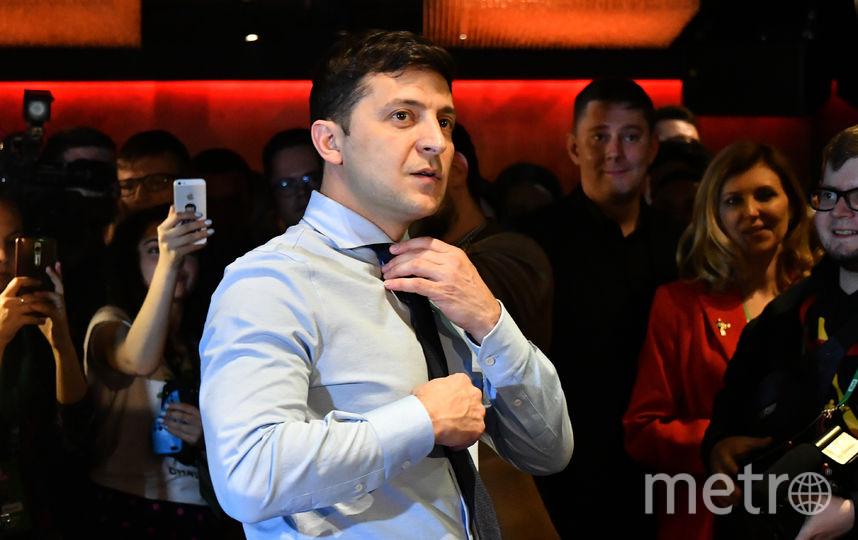 Шоумен Владимир Зеленский. Фото AFP