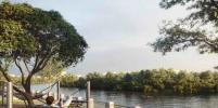 Как обустроят набережную реки Охты: в Петербурге появится новое место для отдыха