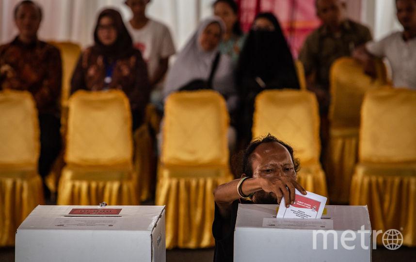 Выборы в Индонезии. Фото Getty