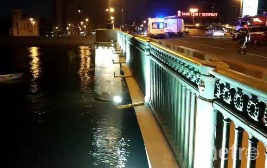 Кадр видео с места происшествия. Фото ДТП и ЧП | Санкт-Петербург | Питер Онлайн | СПб