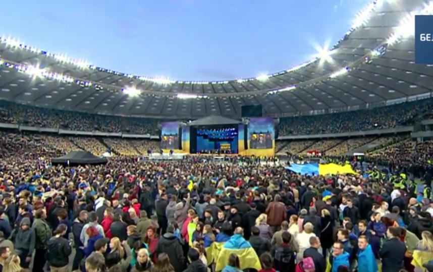 Фрагмент дебатов Порошенко-Зеленского. Фото Скриншот Youtube