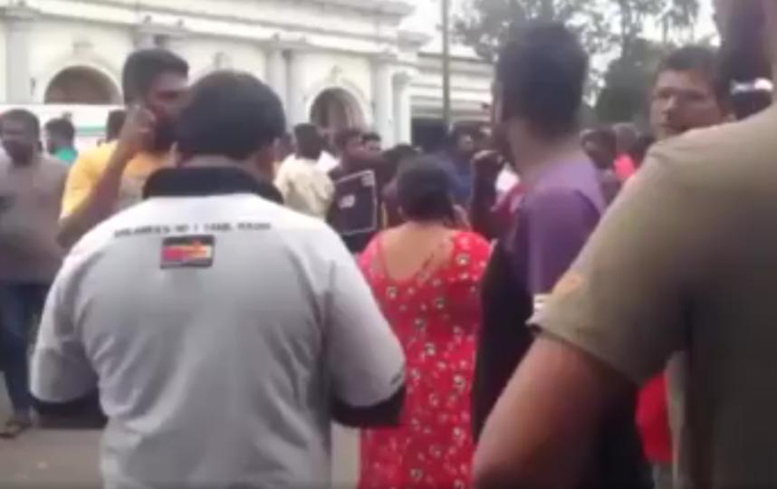 Во время взрывов на Шри-Ланке погибли 35 иностранцев. Фото скришот видео ren-tv
