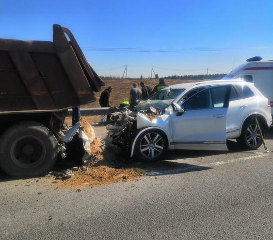 На трассе Сортавала произошло смертельное ДТП с участием двух автомобилей. Фото https://vk.com/pss_agalatovo