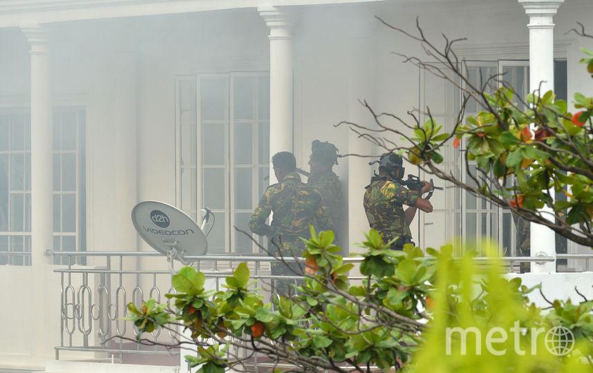 Задержаны 8 подозреваемых. Фото AFP